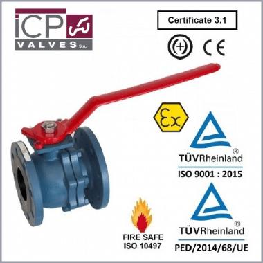 Zawór kulowy ICP typ 752