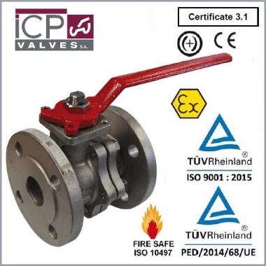 Zawór kulowy ICP typ 753