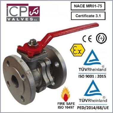 Zawór kulowy ICP typ 757