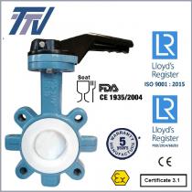 Przepustnica TTV typ 1165