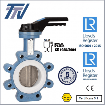 Przepustnica TTV typ 1166