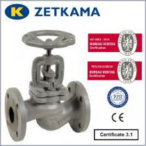 Zawór grzybkowy ZETKAMA typ 479