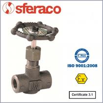 Zawór iglicowy SYVECO / SFERACO typ 483-484-486