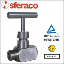 Zawór iglicowy SYVECO / SFERACO typ 488